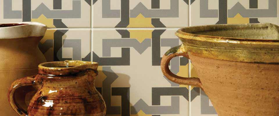 Patterned Tile Backsplash