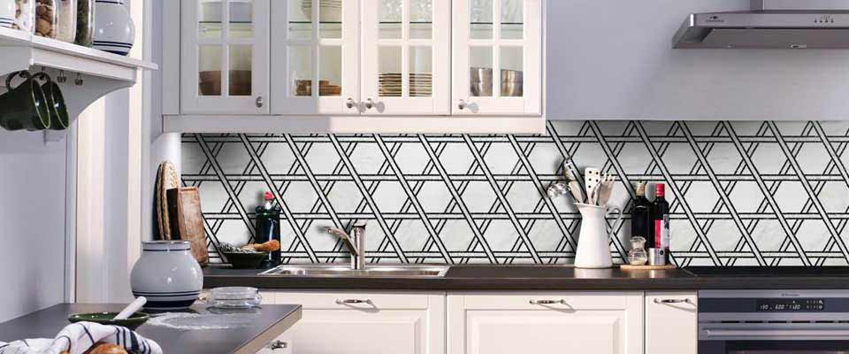 Decorative Tile Backsplash