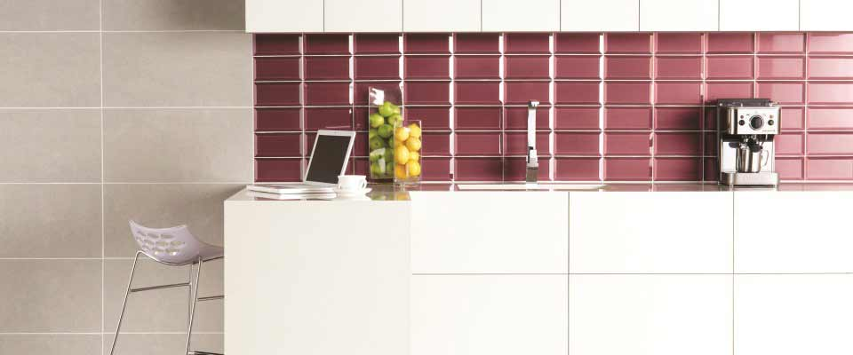 Glass Tile Bar Backsplash